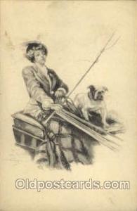 Artist Lester Ralph Unused light yellowing stains on card, Unused