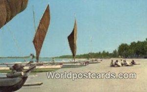 Native Fishing Boats Coastal Philippines Unused