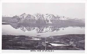 RP; Aerial view ,  ATLIN  ,  B.C. , Canada , 30-40s