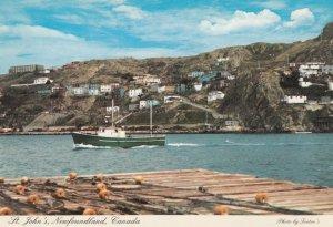 ST. JOHN's , NEWFOUNDLAND , Canada , 50-70s ; Narrows Harbor