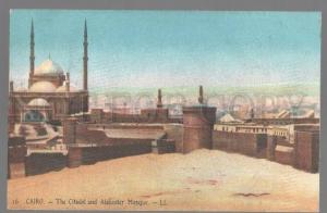 099040 EGYPT Cairo The Citadel and Alabaster Mosque Vintage PC