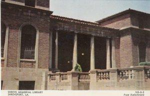 SHREVEPORT , Louisiana , 1950-60s ; Shreve Memorial Library