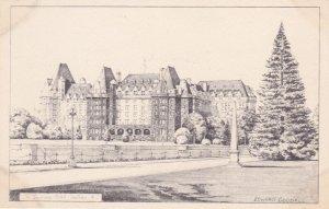VICTORIA , B.C. , Canada , 1930s ; Hotel ; Artist Edward GOODALL