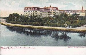 Florida Miami Hotel Royal Palm and Grounds