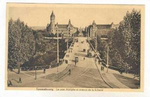 Le Pont Adolphe Et Avenue De La Liberte, Luxembourg, 1900-1910s