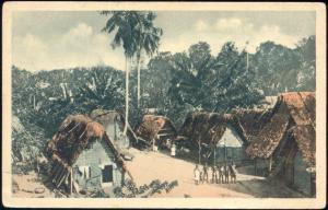 suriname, Native Maroon Village (1920s) Mission