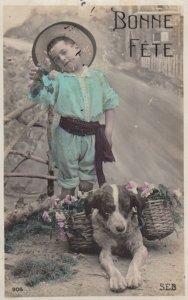 RP: Bonne Fete , Child & Dog , 00-10s