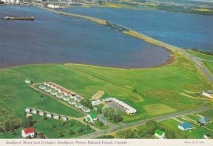 Aerial view,  Southport Motel and Cottages,  Southport,  Prince Edward Island...