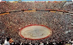 La Plaza Mexico, Bullring Tarjeta Postal Bullfighting Unused
