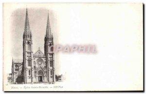 Old Postcard Nimes Eglise Sainte Brandile