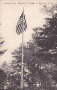 New Hampshire Meredith Camp Menotomy Flag Artvue