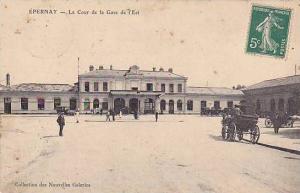 Epernay , France, 00-10s - La Cour de la gare de l'Est