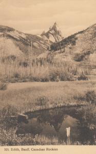 BANFF, Alberta, Canada, 00-10s; Mount Edith, Canadian Rockies