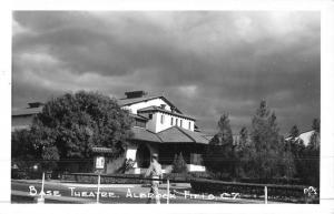 Albrock Field Panama Base Theatre Real Photo Antique Postcard K45244