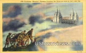 Mormon Pioneers Crossing the Plains -ut_salt_lake_city_07