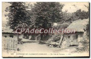Old Postcard Clermont Ferrand A Corner Of Fontanas