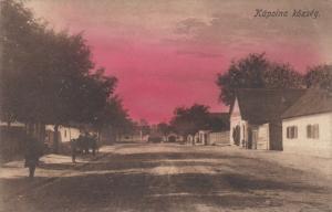 KAPOLNA kozseg, HUNGARY, 00-10s; Main Road