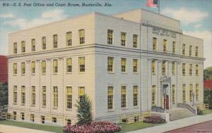 Alabama Huntsville Post Office and Court House Curteich