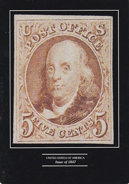 Stamps Of United States 5 Cent Issue of 1847
