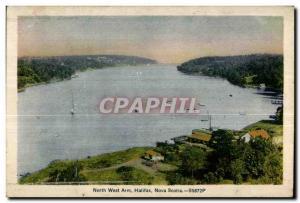 Postcard Old North West Arm Halifax Nova Scotia