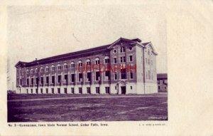 pre-1907 GYMNASIUM, IOWA STATE NORMAL SCHOOL, CEDAR FALLS