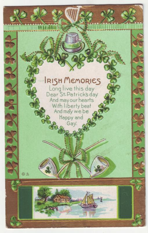 P479 JLs divided back st patricks day irish memories