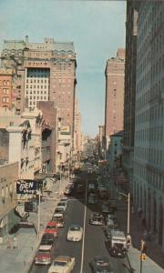 MEMPHIS, Tennessee, 50-60s; Madison Avenue Looking East