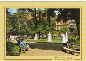 France Toulouse Square Charles de Gaulle