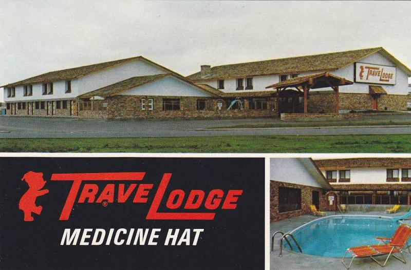 Swimming Pool, Travelodge, Medicine Hat, Alberta, Canada, 40-60´s