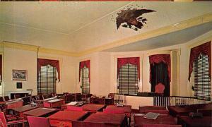 USA Independence National Historical Park Senate Chamber Congress Hall