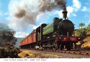 Bamforth Postcard Great Northern Railway 060 Saddle Tank Steam Engine #G