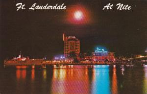 Pier 66 At Night Fort Lauderdale Florida