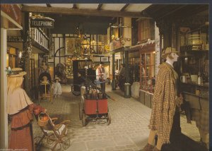 Devon Postcard - Victorian Street Scene, Bygones Museum, Torquay  LC5872