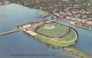 Florida Daytona Beach City Island Recreation Center 1949
