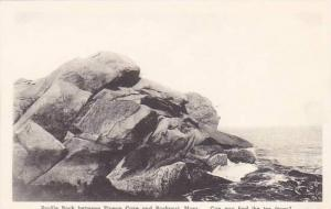 Massachusetts Rockport Profile Rock Between Pigeon Cove And Rockport Can You ...