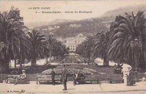 Avenue Du Boulingrin, Monte-Carlo, Monaco, 1900-1910s