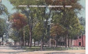 Massachusetts Bridgewater Central Square The Common 1912