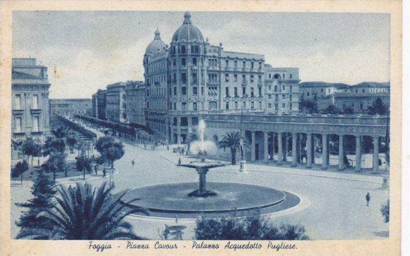 Piazza Cavour, Palazzo Acquedotto Pugliese, Foggia, Puglia, Italy, 10-20s