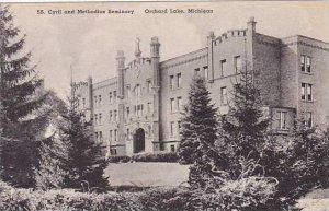 Michigan Orchard Lake SS Cyrril and Methodius Seminary Albertype