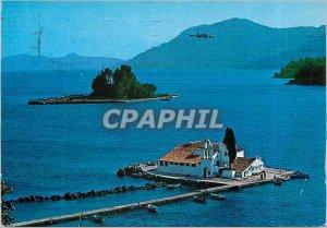 Postcard Modern Corfu Our Lady of Vlachernas