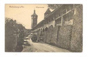 Rothenburg o/Tauber, Klingenschutt, Bavaria, Germany, 00-10s