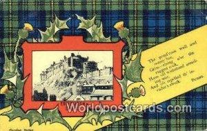 Edinburgh Castle England, United Kingdon of Great Britain 1908