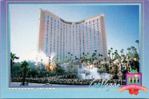 Treasure Island Las Vegas NV Nevada Hotel Casino Vintage UNUSED Postcard F45