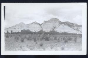REAL PHOTO PHOTOGRAPH NEAR RED HILL NEW MEXICO 3.5 X 5.5 NM N.M.