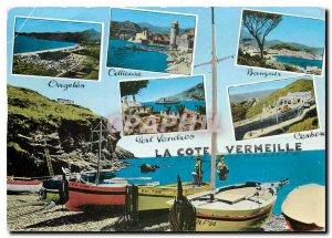 Modern Postcard La Cote Vermeille Cote Argeles Views from Collioure Banyuls C...