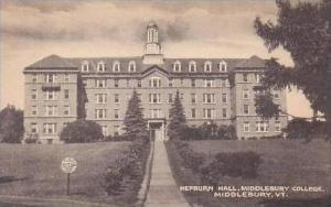 Vermont Middlebury Hepburn Hall Middlebury College