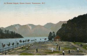 Bowen Island, Howe Sound, Vancouver BC British Columbia Postcard