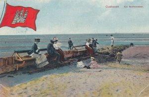 CUXHAVEN , Germany , 1900-10s ; Am Wattenmeer