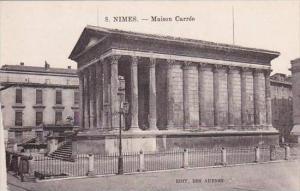 France Nimes Maison Carree