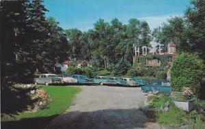 Exterior,  Hotel Lacombe,  Lac Megantic,  Quebec,  Canada,  PU_1970
